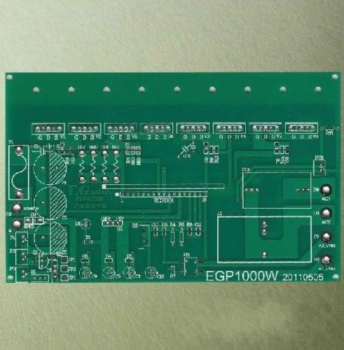 1x egp1000w onda senoidal pura inversor placa de alimentação pcb nua placa nova