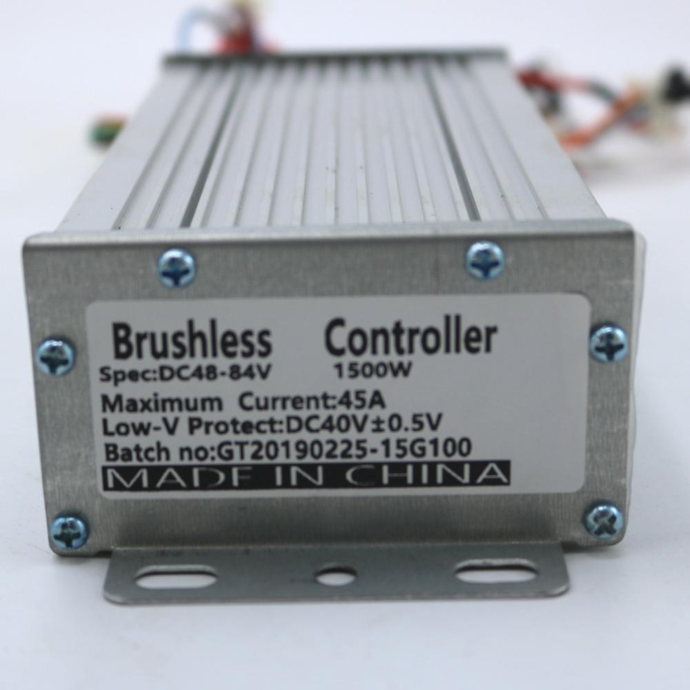 Greentime alta calidad 48V 1000W 45Amax BLDC controlador de velocidad del motor Sensor/controlador de Scooter eléctrico sin Sensor
