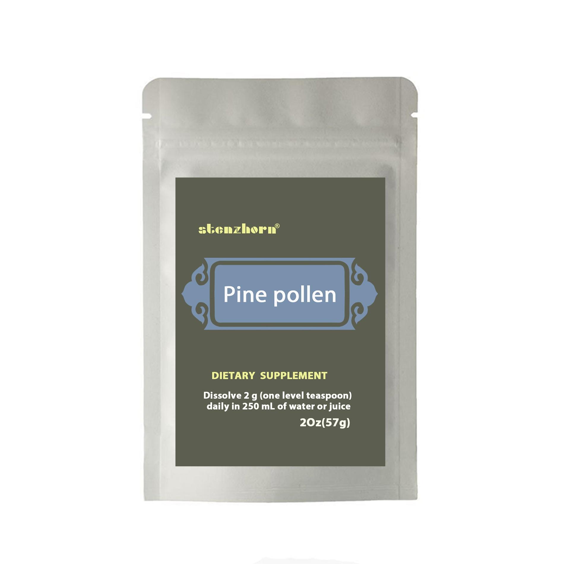 PINE POLLEN 2Oz 57g  Pine pollen contains great anti-oxydation ingredients natural vitamineA, C, E, phospholipid high quality pine pollen natural masson pine wild genuine no sugar no added additives pine pollen