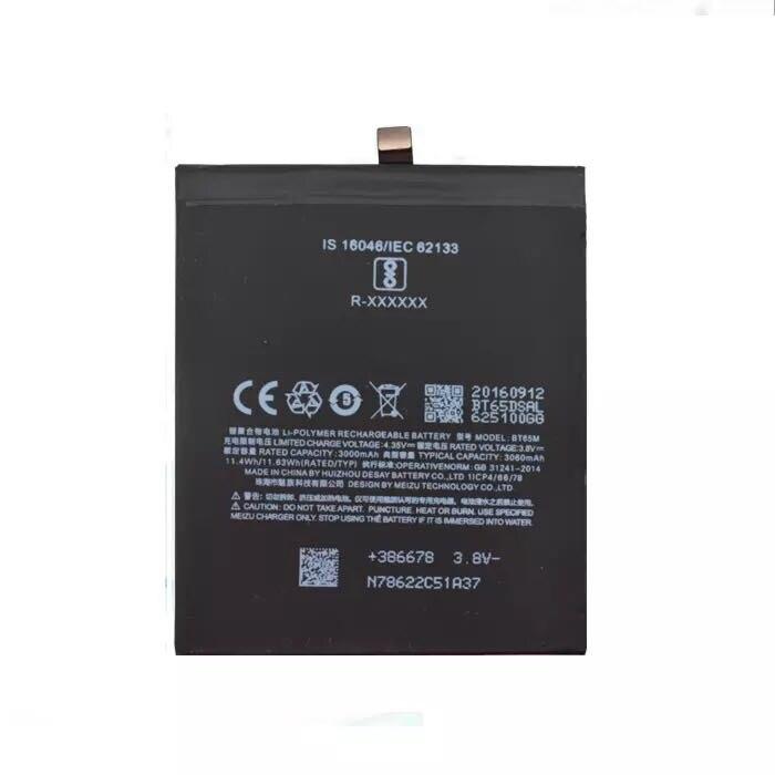 For Meizu MX6 Mobile Phone BTBT65M 3000mAh battery недорого