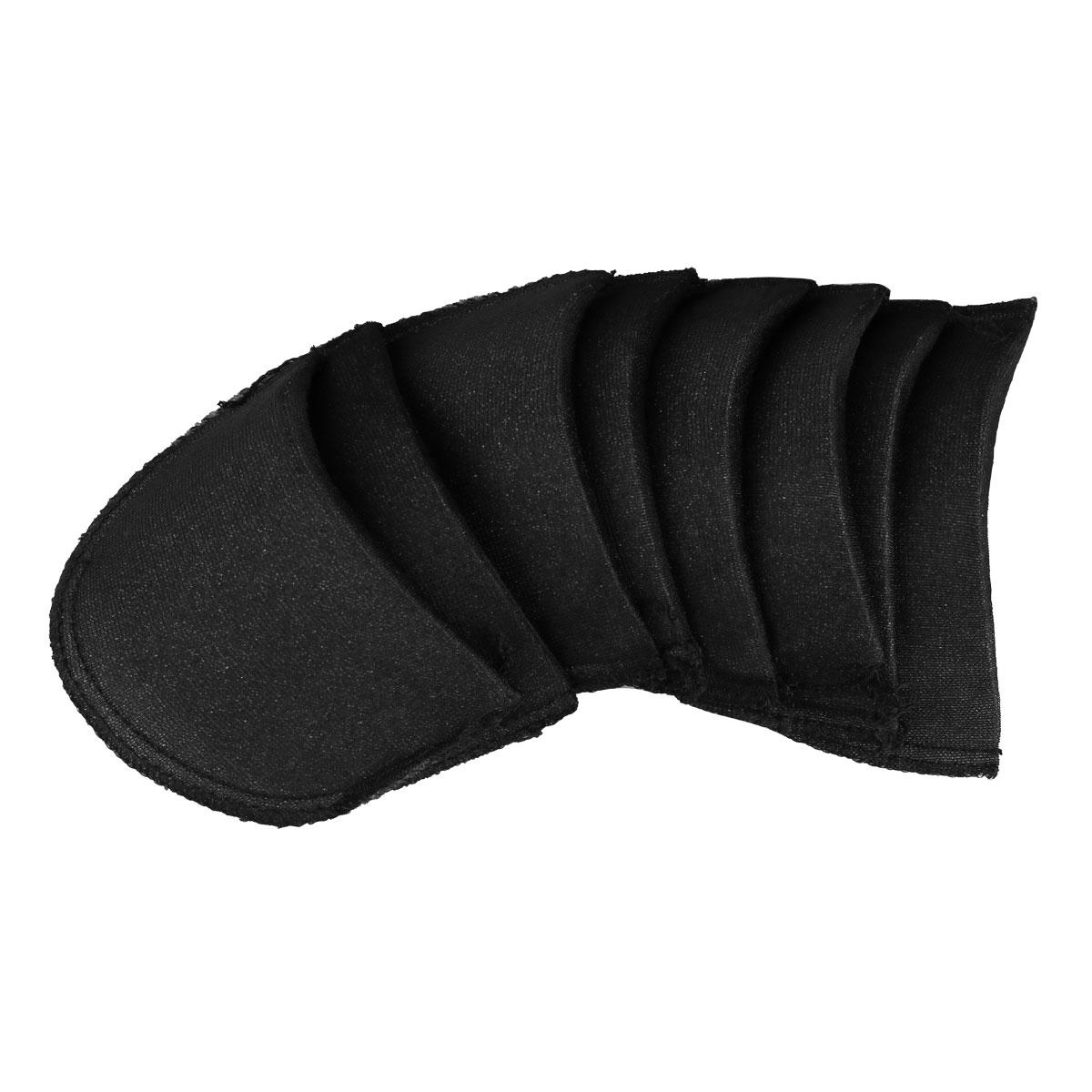 Almohadillas de espuma antideslizantes para hombro con relleno suave en ee.uu., 4 pares, potenciador para Blazer, camiseta, accesorios de costura para ropa