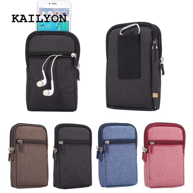 KAILYON portefeuille de sport universel sac de téléphone portable étui extérieur pour Vernee Apollo Lite/Vernee Thor pour smartisan U1 T1 T2 T3
