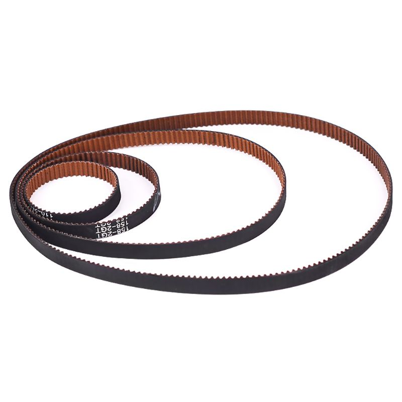 1 ud. Correa de distribución de bucle cerrado GT2 antideslizante resistente al desgaste goma 2GT 6mm 110 200 280 300 400 610 852mm correas síncronas