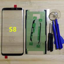 Оригинальный сенсорный экран Gorilla для Samsung Galaxy S8 G950 G950F G950FD G950T G950V, сменная передняя внешняя стеклянная панель