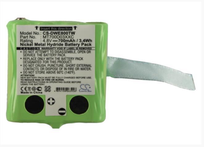 Cameron Sino batería de 700mAh para DETEWE al aire libre 8000 PMR MT700D03XXC para PX-1755 PX-1761 PX-1754-919 PX-175-675