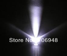 1000pcs, 5mm White Flash Flashing Blink Water Clear Bright LED Leds