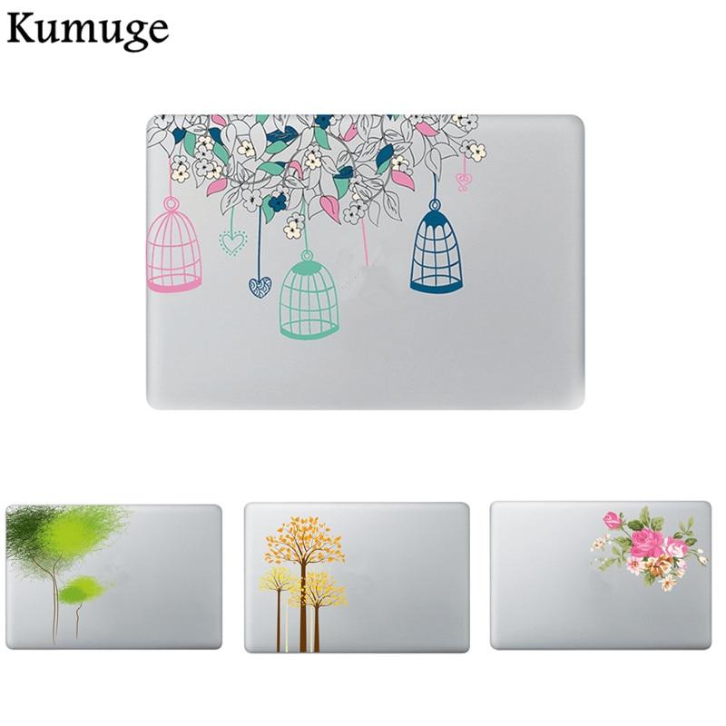 Flowers Laptop Sticker for Macbook Air Pro Retina 11 12 13 15 Vinyl Decal Laptop Skin Shell for Macbook Xiaomi Air 13 Sticker