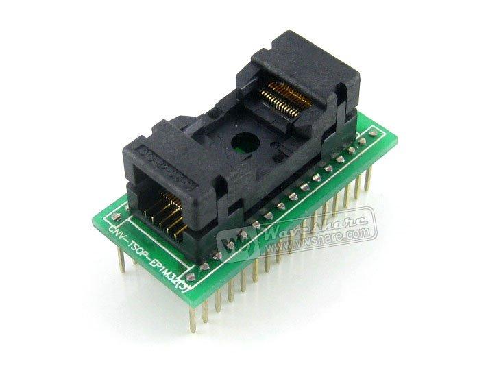 TSOP32 إلى DIP32 (A) # TSSOP32 Enplas IC اختبار المقبس محول البرمجة 0.5 مللي متر الملعب