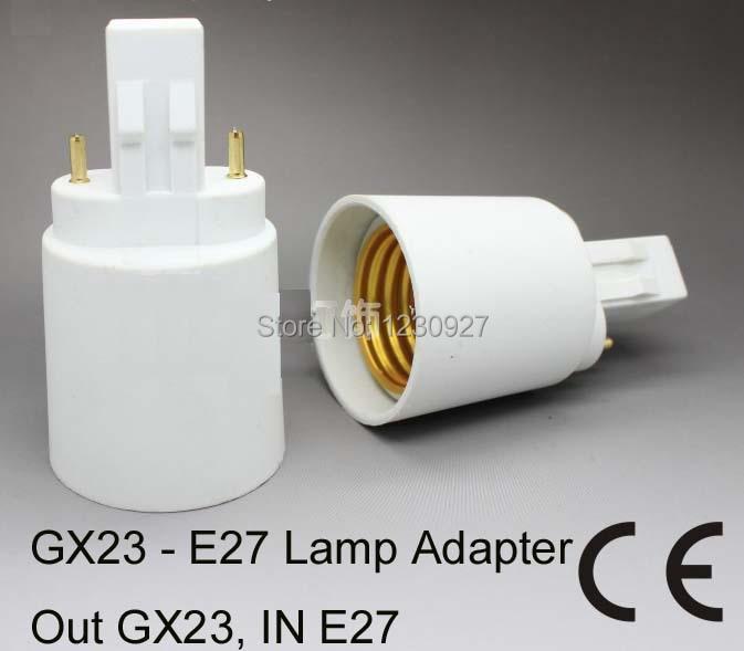 GX23 to E27  lamp adapter holder socket converter LED Lighting Accessories