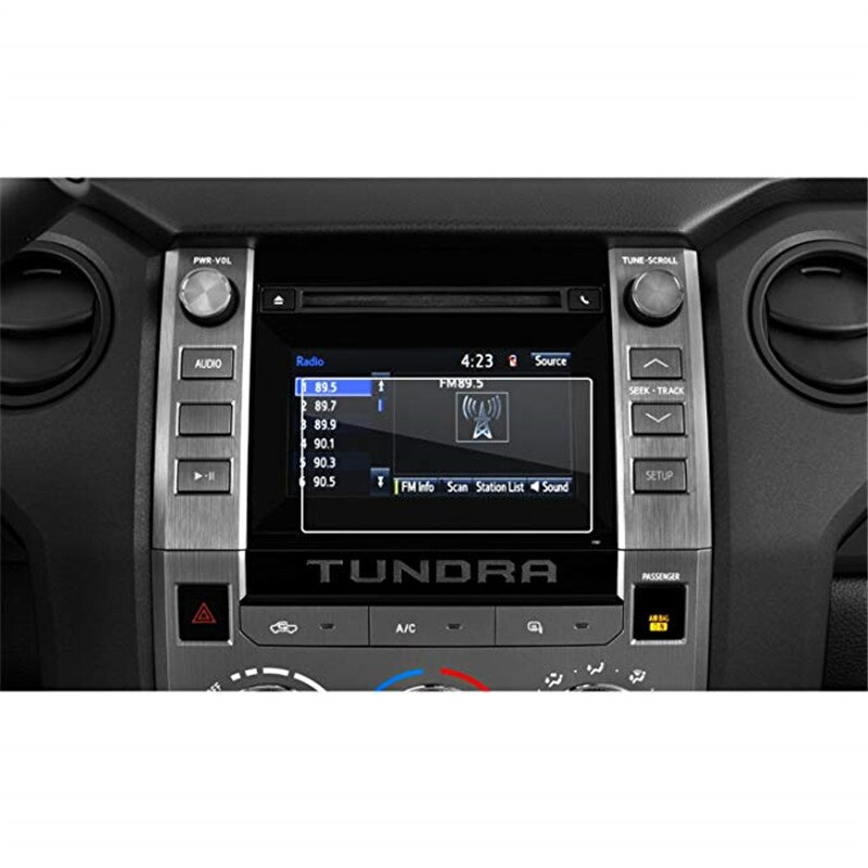 Para Toyota 2014-2018 Toyota Tundra Entune 6.1 Polegada de Navegação Do Carro Tela de Toque de Vidro Temperado Protetor de Tela de Alta Clareza