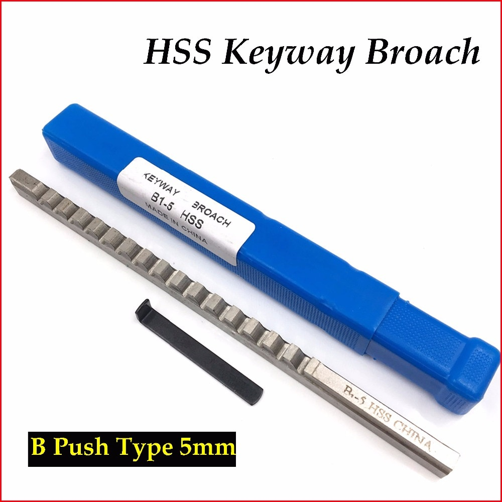 Brocha métrica tipo pulsador B1 de 5mm con cuña herramienta de corte de acero de alta velocidad para máquina CNC nueva