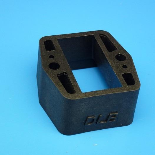 Original DLE Parts! Carburetor heat block for DLE85 DLE111 DLE120 Gasoline/Petrol Engine