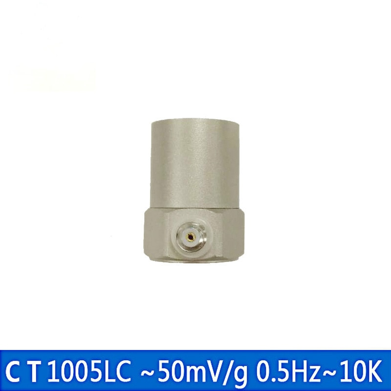 CT1005LC ICP/IEPE Sensor de vibración 100g de Sensor y acelerómetro