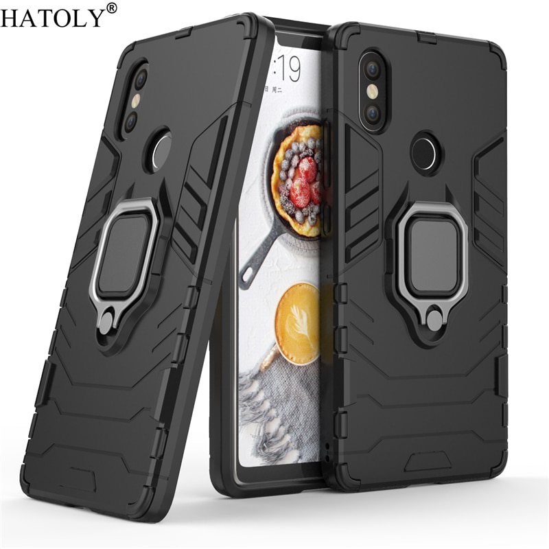 For Xiaomi Mi 8 SE Case Cover for Xiaomi Mi 8 SE Magnetic Finger Ring Phone Case Shell Protective Ar