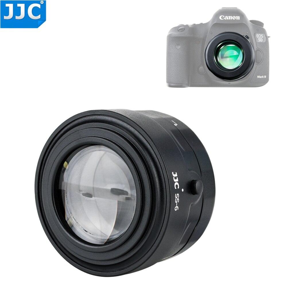 JJC 7x увеличительное стекло с 6 ультра-яркими светодиодами Для беззеркальных датчиков камеры DLSRs CCD для проверки очистки
