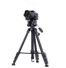 NEUE 690 Stativ Tragbare 3 Way Kopf + tasche Für Kamera Nikon Sony Canon telefon