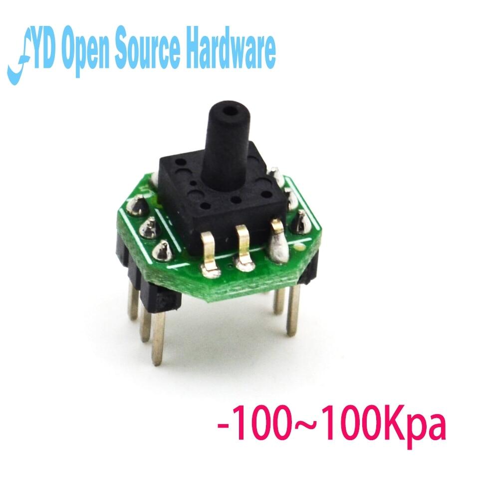 1pcs XGZP6847 -100~100KPa pressure sensor transmitter module 0.5-4.5V