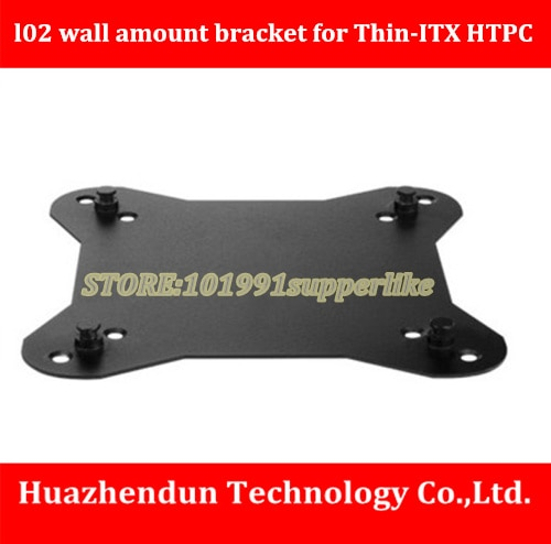 DEBROGLIE l02 parede suporte para Thin-CASO ITX CASO HTPC Apoio para VESA Ficar para trás do defletor