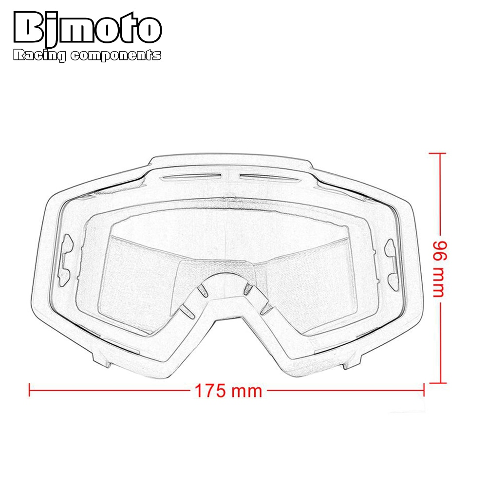 BJMOTO Motorcycle Ski Goggles Sunglasses UV lens Off Road Motorbike Outdoor Sport Oculos Cycling Goggles Motocross Gafas enlarge