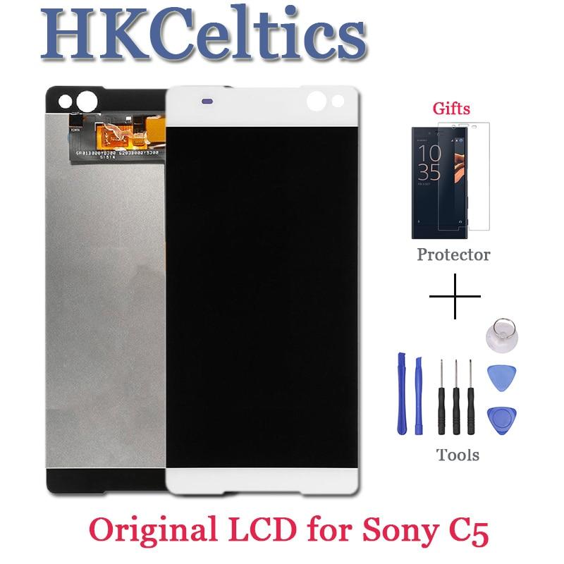 Pantalla táctil para SONY Xperia C5 Ultra E5506 E5533 E5563 E5553 LCD pantalla digitalizador Sensor Panel de vidrio montaje C5 piezas de pantalla