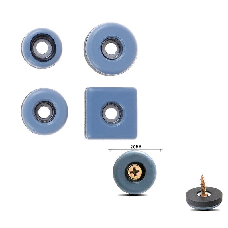 4 unids/lote deslizante de mesa de muebles de Bases de Montaña Rusa alfombra suelo magia en movimiento Anti-abrasión piso Mat