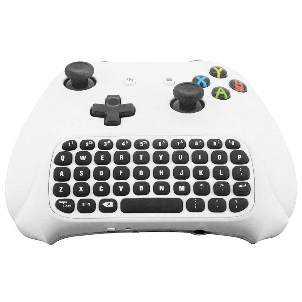 47 teclas sem fio 2.4g prático mini handheld teclado gaming mensagem gamepad teclado para xbox um s controlador