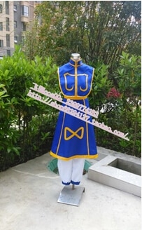 Free shipping anime Anime hunter x hunter Cosplay Kurapika Costume