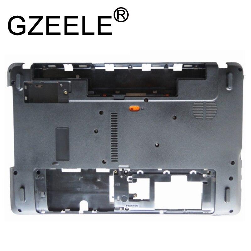 GZEELE Base cubierta inferior para Gateway NV55S05u NV57H NV55S NV55S07u NV55S14u Q5WTC minúscula cubierta negro