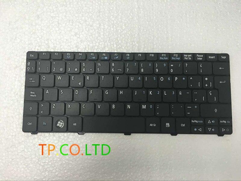 Teclado español para Acer Aspire One D255 D257 AOD257 D260 D270 521...