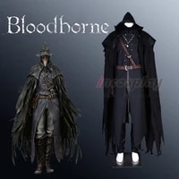 bloodborne finding eileen the crow cosplay costum full set halloween outfit