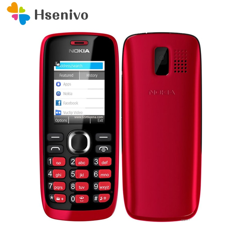 112 Original Nokia 112 1120 unlocked original dual sim card Good Quality Mobile Phone with English/Russia/Hebrew/Arabic keyboard