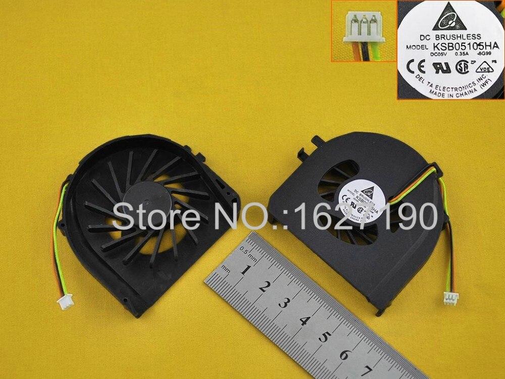 Nuevo reemplazo de reparación de Ventilador de refrigeración para portátil para el enfriador/radiador de CPU DELL Vostro V3400 MF60090V1-D000-G99