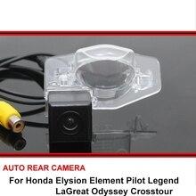 For Honda Elysion Element Pilot Legend LaGreat Odyssey Crosstour Night Vision Car Rear View Camera HD SONY Reverse Backup