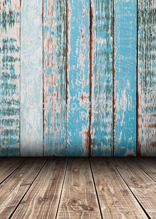 Vintage Wood Planks Photography Backdrop Wood Floor Custom Photo Prop backgrounds D-2139
