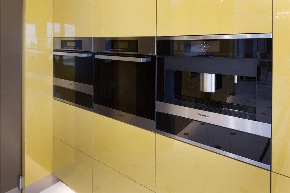 Garde-manger de cuisine moderne   Armoires de cuisine, couleur blanche, laque haute brillance, 2PAC L1606068, 2017 offres spéciales