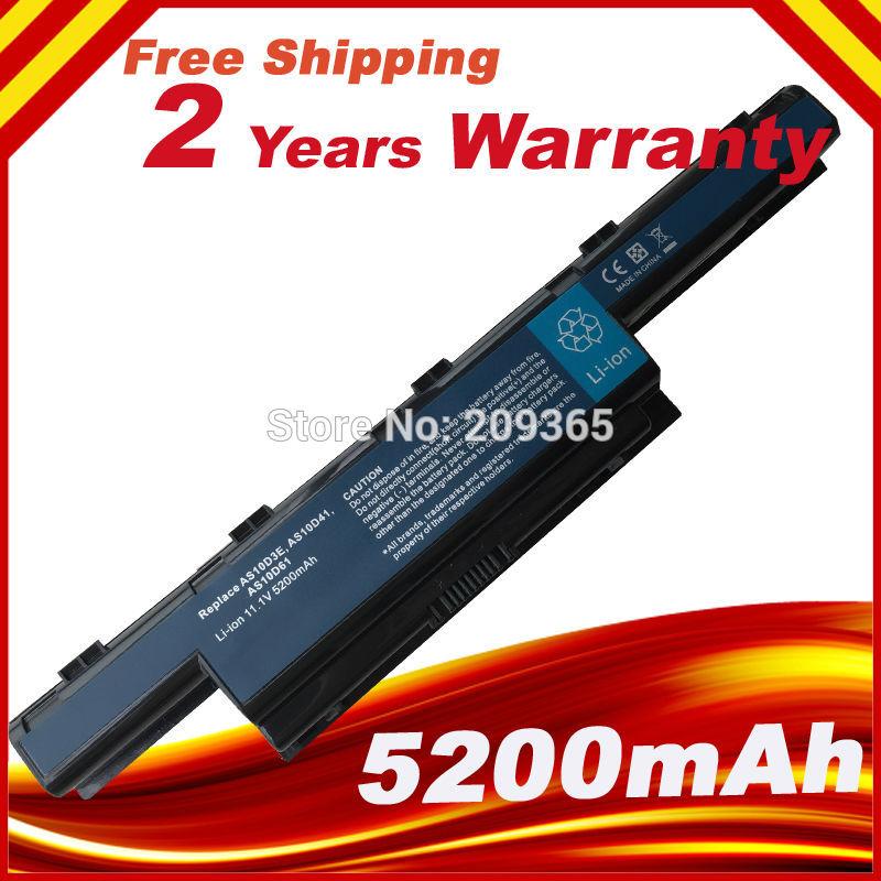 HSW batería del ordenador portátil para ACER AS10D31 AS10D41 AS10D51 AS10D61 AS10D75...