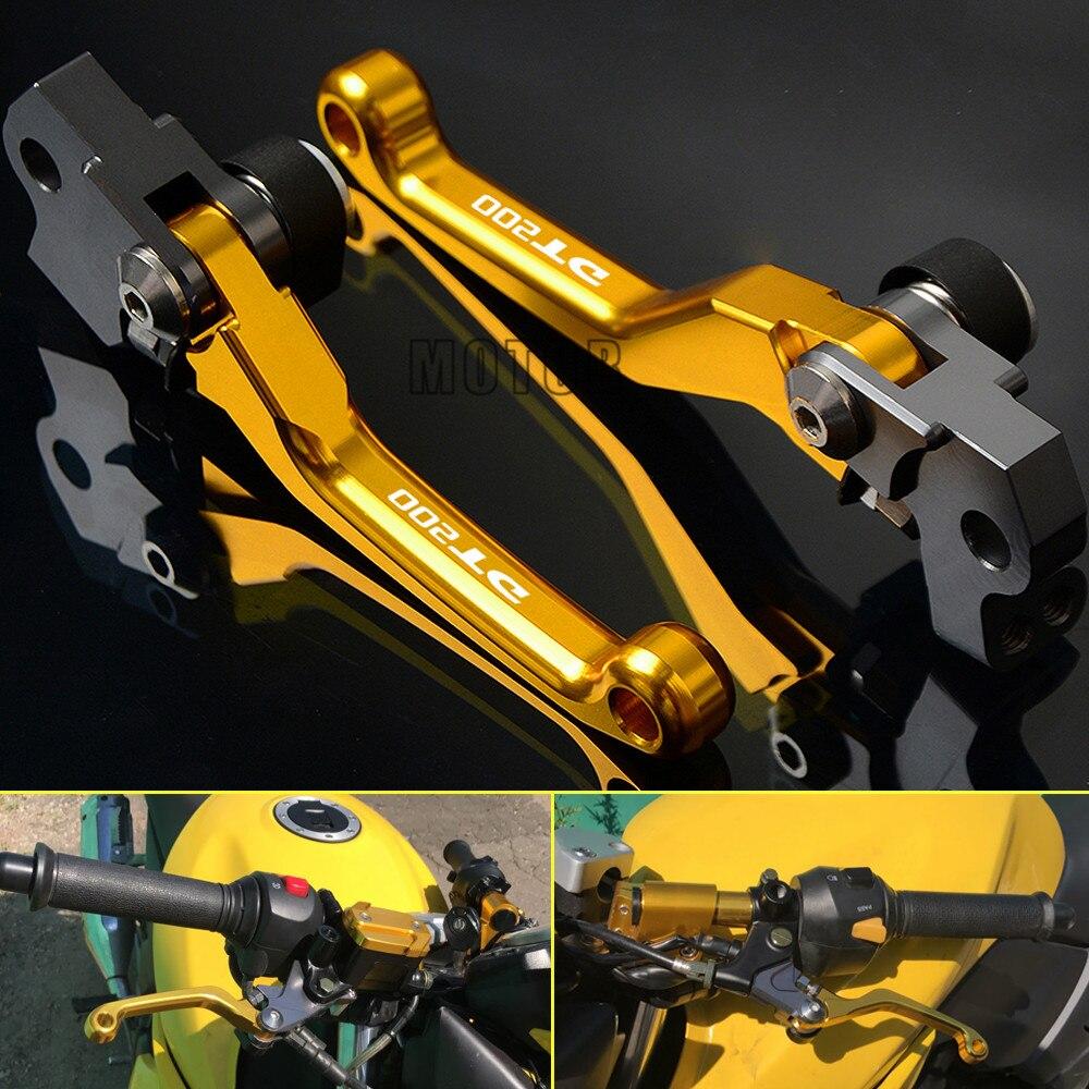 For YAMAHA DT200 1988 1989 1990 1991 1992 1993 1994 DT 200 Aluminum Pivot Pit dirt bike Brake Clutch Lever Motocross Accessories