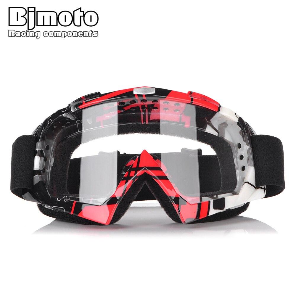 BJMOTO Motocross Goggles Gafas Sport Racing Motorcycle Glasses Sunglasses For Dirt Bike ATV Off Road Moto Helmet