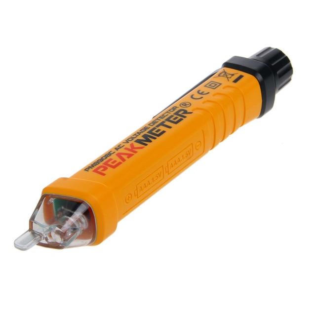 Probador de voltaje sin contacto PM8908C 50-60Hz AC 12-1000V detector de circuito de pluma