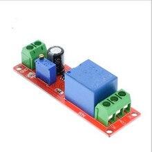 Bouclier de relais temporisation 12V cc   1 pièce, interrupteur de minuterie NE555, Module réglable 0 ~ 10S