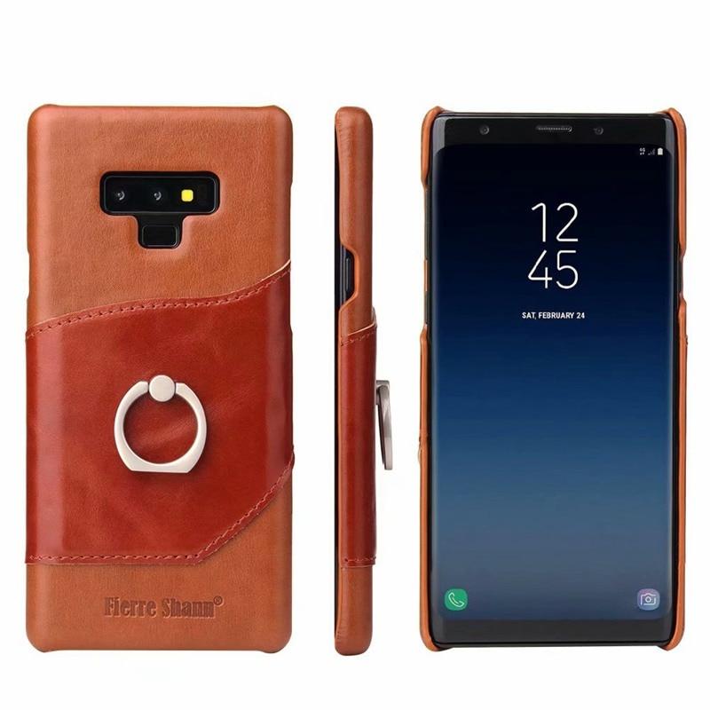 غلاف الهاتف الجلدي الفاخر ، جراب لهاتف Samsung Galaxy note 8 ، 9 ، 10 ، s8 ، s10 plus ، s10e ، Funda ، Etui ، ملحقات الهاتف