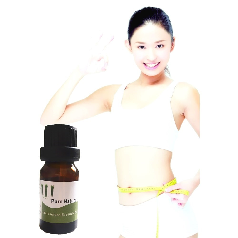 MIYUELENI 10ml hierba De limón De aceites esenciales aceite esencial De dieta...