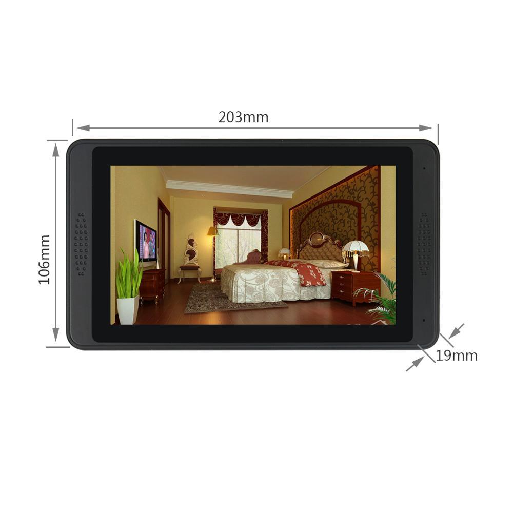 Video Intercom Wifi IP Camera Video Door Phone Support Face Recognition unlock Smart Phone enlarge