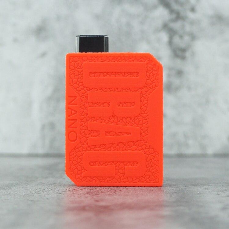 50 قطعة 2019 RHS الساخن المنتجات سيليكون حالة وقائية غطاء للكم ل Voopoo السحب نانو 10 ألوان شحن مجاني