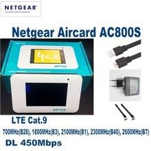 Netgear Aircard AC800S Cat9 450 Mbps 4G LTE Routeur Sans Fil prise en Charge B1 B3 B7 B8 B28 B38 B40