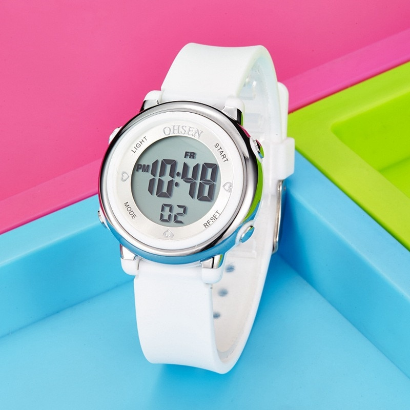 Kids Watches Children Digital LED Fashion Sport Watch Cute boys girls Wrist watch For Waterproof Gift Watch Alarm Men Clock 2020 himouto umaru chan japan anime led watch waterproof touch screen women wrist watches comics cartoon christmas gift
