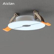 Aisilan plafond monté Downlight plaque de plâtre trou dispositif de remplissage