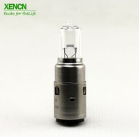 XENCN M5 BA20d 12V 45/40W High power Motorcycle lights UV Glass Halogen Headlight 1pcs