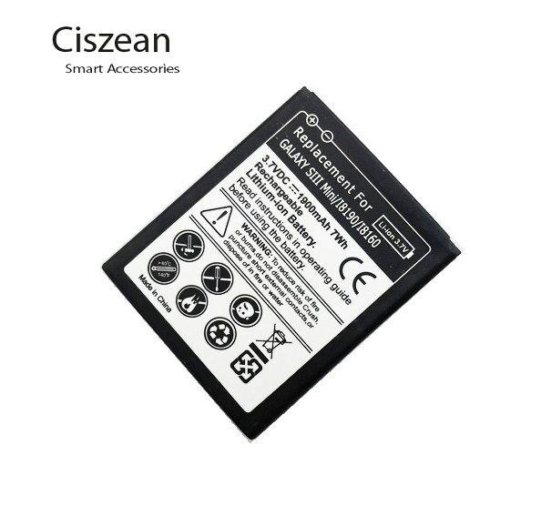 5 sztuk 1900 mAh EB425161LU wymiana bateria do Samsunga Galaxy S3 SIII MINI I8190 I8160 I699 S7562 S7562I S9920 J1 Mini J105H