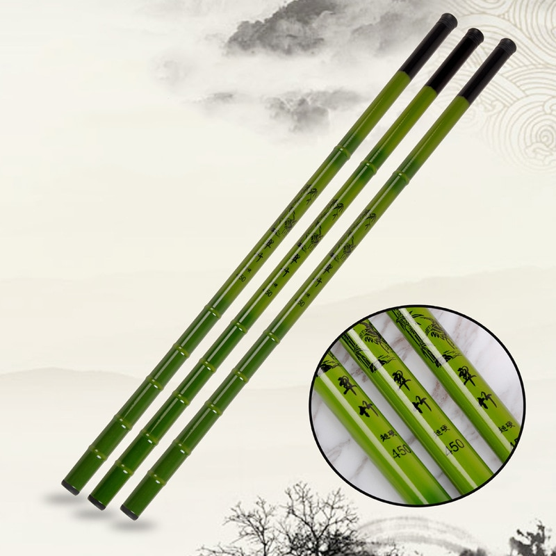 2.7m 3.6m 4.5m 5.4m 6.3m 7.2m Portable Stream Fishing Rod FRP Telescopic Fishing Rod Ultra Light Carp Fishing Pole A038